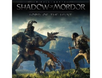 75% off Middle-earth: Shadow of Mordor Lord of the Hunt (PC)