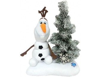 90% off Disney's Frozen Olaf and Light-Up Tree Decor