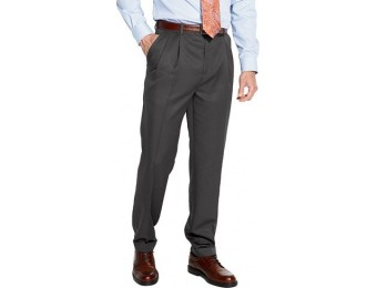 90% off Men's Croft & Barrow Classic-Fit Pleated Dress Pants