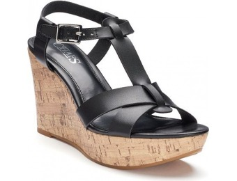 80% off Chaps Afton Women's Wedge Sandals