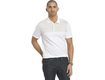 80% off Men's Van Heusen Classic-Fit Jacquard Polo Shirt