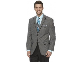 80% off Men's Van Heusen Modern-Fit Checkered Suit Jacket