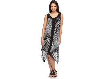 80% off Women's AB Studio Mixed-Print Tank Dress