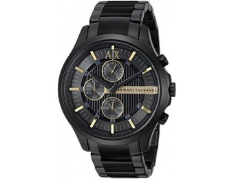 $130 off Armani Exchange Men's AX2164 Black PVD Watch