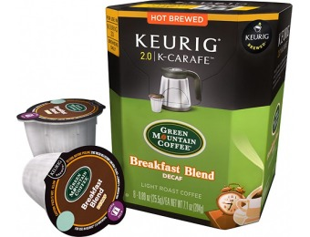 $7 off Keurig Green Mountain Breakfast Blend Decaf (8-Pack)