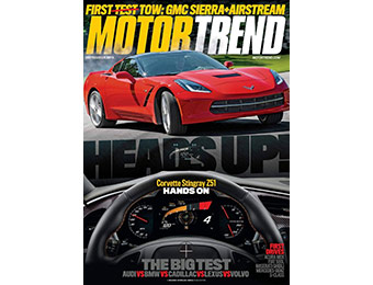 92% Motor Trend Magazine 1 Year Subscription, promo code: 0325