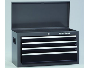 "$40 off Craftsman 26"" Wide 4-Drawer Top Tool Chest"