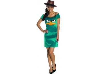 83% off Teen Agent Perry Dress Costume - Phineas and Ferb