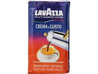 44% off Lavazza Crema e Gusto Ground Coffee (Pack of 4)