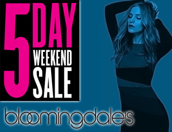 5 Day Weekend Sale: Up to 65% off!