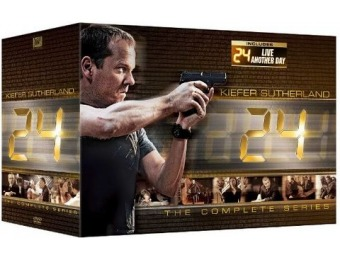 $110 off 24: The Complete Series/24: Live Another Day (DVD)
