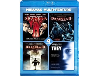 73% off Wes Craven 4 Film Series on Blu-ray ($2 / movie)