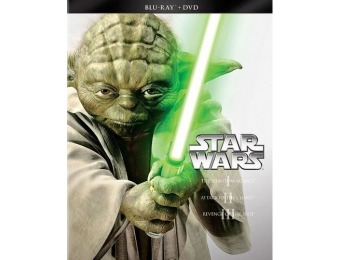 67% off Star Wars Trilogy: Episodes I-III (Blu-ray + DVD)