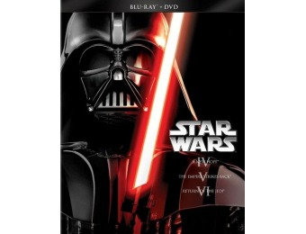 67% off Star Wars Trilogy: Episodes IV-VI (Blu-ray + DVD)