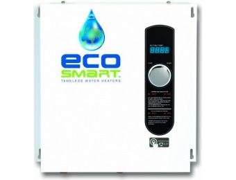 $233 off EcoSmart ECO 27 Electric Tankless Water Heater
