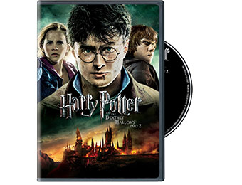 80% off Harry Potter and the Deathly Hallows, Part 2 DVD + Digital Copy