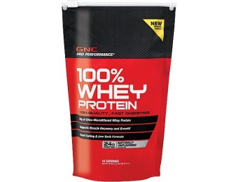 78% off GNC Pro Performance 100% Whey Protein