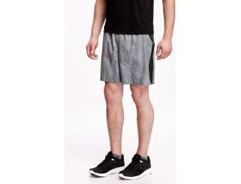82% off Old Navy Go Dry Mesh Detail Run Short For Men 7""