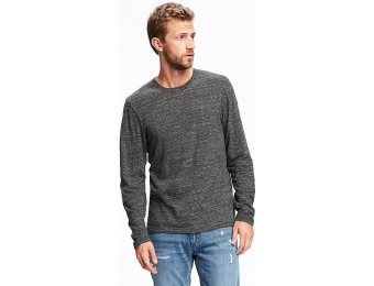 75% off Old Navy Textured Crew Neck Layering Tee For Men