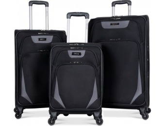 79% off Kenneth Cole Reaction Going Places 3 Pc Luggage Set