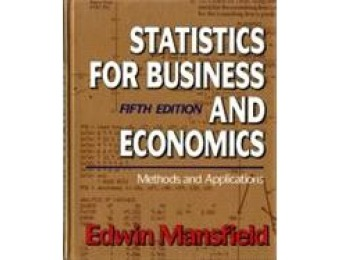 99% off Statistics for Business & Economics 5th Edition, Used
