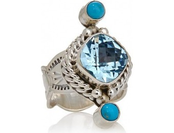 83% off Chaco Canyon Couture Multigemstone Sterling Silver Ring