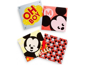 80% off Mickey Mouse MXYZ Acrylic Coaster Set