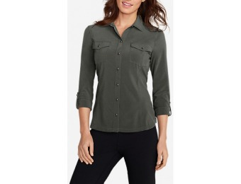 56% off Eddie Bauer Women's Departure Long-Sleeve Shirt
