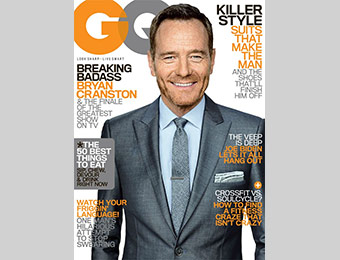 90% off GQ Magazine Subscription (1 year), promo code: 6504