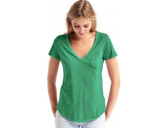 68% off Gap Women Vintage Wash Sueded V Neck Tee