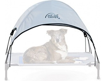 "75% off K&H Manufacturing Pet Cot Canopy Large 30"" x 42"""