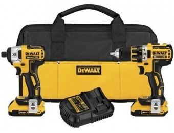 67% off DeWalt DCK281D2 20V Max XR Lithium Ion Combo Kit