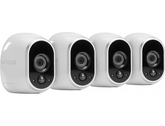 $300 off NETGEAR Arlo Smart Home Wireless HD Security Cameras