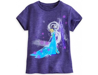 82% off Disney Elsa Tee for Girls