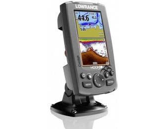 46% off Lowrance Hook-4 CHIRP Transducer / GPS / Cartography