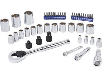 $45 off Kobalt 46-Pc SAE and Metric Mechanic's Tool Set 87041