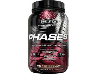 46% off MuscleTech Phase 8 Protein Supplement