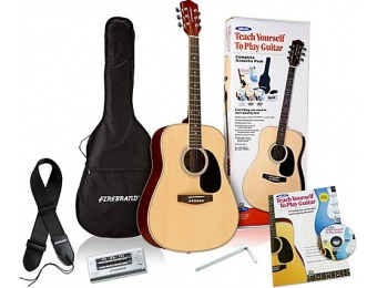 72% off Alfred Teach Yourself To Play Acoustic Guitar Kit