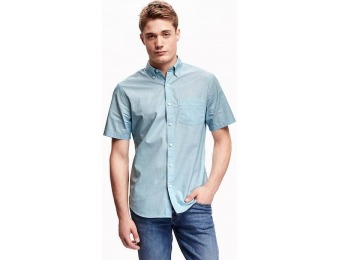 80% off Old Navy Slim Fit Poplin Shirt For Men