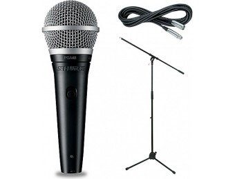 74% off Shure Pga48-Lc, Stand & Cable Package