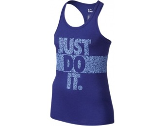 84% off Nike Girls' Palm Just Do It Tank