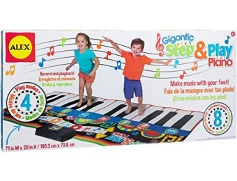 61% off ALEX Toys Gigantic Step and Play Piano