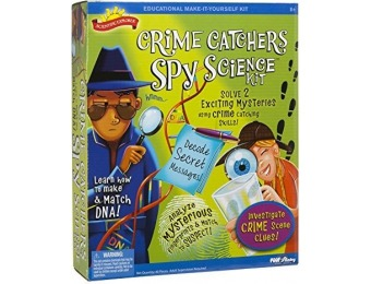 55% off Scientific Explorer Crime Catchers Spy Science Kit