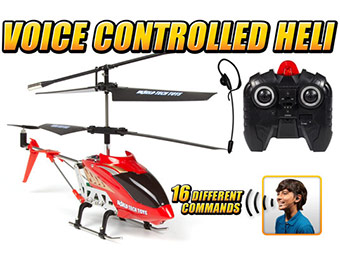 $95 off Gyro Heli Command 3.5CH Voice Control RC Helicopter