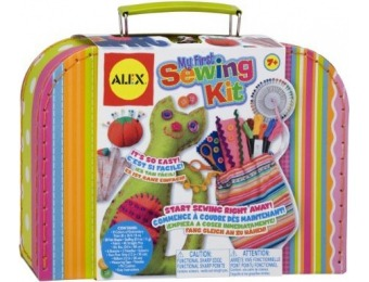 72% off ALEX Toys Craft My First Sewing Kit
