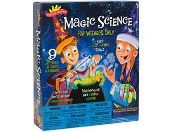 90% off Scientific Explorer Magic Science for Wizards Only Kit