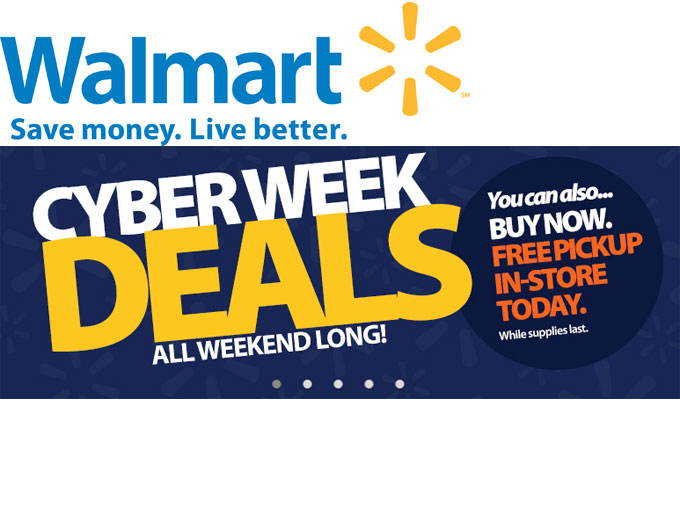 Walmart Cyber Week & Black Friday Deals