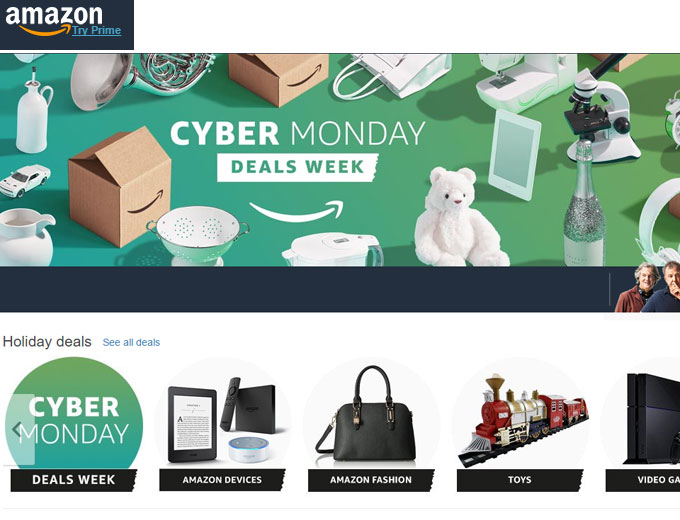 Amazon Cyber Monday Deals Are Here