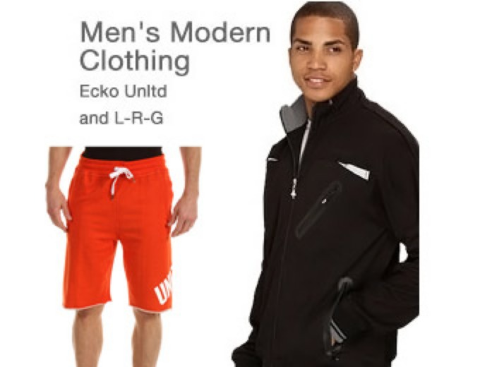 Up to 80% off Men's Modern Clothing, Ecko, LRG
