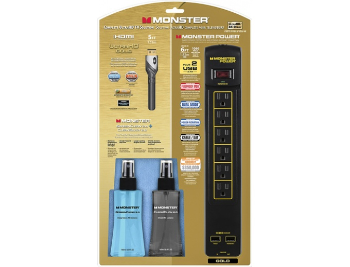 Monster Gold Home Theater Kit